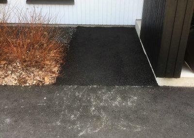 Pieni asfaltointityö
